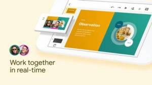iPhone、iPadアプリ「Googleスライド」のスクリーンショット 1枚目