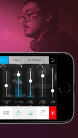 iPhone、iPadアプリ「Music Maker JAM」のスクリーンショット 2枚目