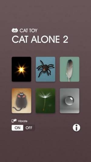 iPhone、iPadアプリ「キャット・ アロ-ン 2 - 猫のおもちゃ」のスクリーンショット 1枚目