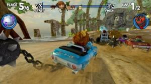 iPhone、iPadアプリ「Beach Buggy Racing」のスクリーンショット 4枚目
