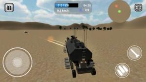 iPhone、iPadアプリ「Battle Car Craft - ブロックで戦車を作ってオンラインバトル!」のスクリーンショット 2枚目