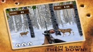 iPhone、iPadアプリ「-森林のシカのハンター大きな降圧撮影サファリ楽しいゲームをプレイします。」のスクリーンショット 2枚目