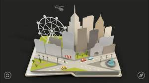 iPhone、iPadアプリ「AirPano Travel Book」のスクリーンショット 3枚目