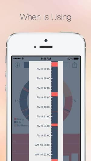 iPhone、iPadアプリ「Usage Log」のスクリーンショット 2枚目