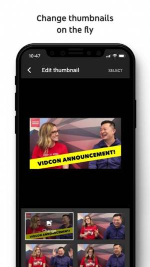 iPhone、iPadアプリ「YouTube Studio」のスクリーンショット 4枚目