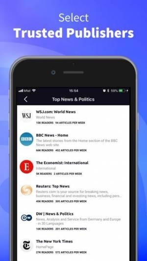 iPhone、iPadアプリ「Inoreader - RSS&ニュースリーダー」のスクリーンショット 3枚目