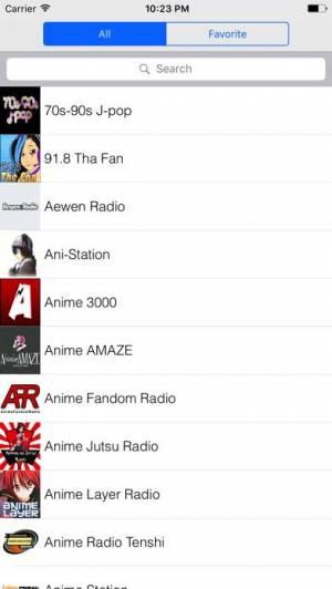 iPhone、iPadアプリ「ラジオアニメ」のスクリーンショット 1枚目
