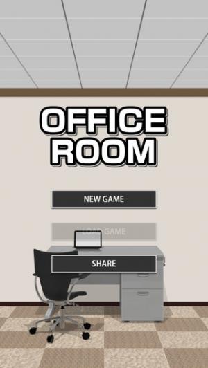 iPhone、iPadアプリ「脱出ゲーム OFFICE ROOM」のスクリーンショット 1枚目