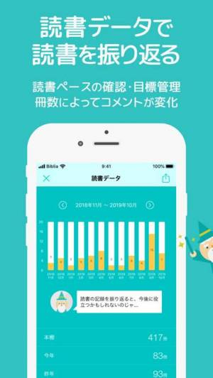 iPhone、iPadアプリ「読書管理ビブリア」のスクリーンショット 5枚目