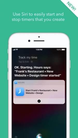 iPhone、iPadアプリ「Hours Time Tracking」のスクリーンショット 4枚目