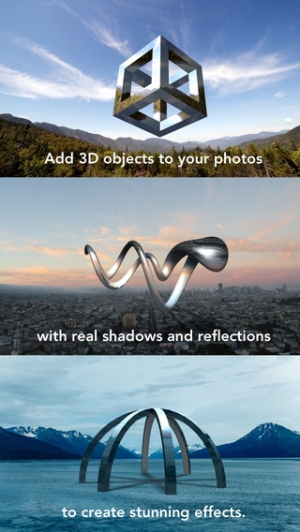 iPhone、iPadアプリ「Matter - Create and design 3D effects with photos」のスクリーンショット 1枚目