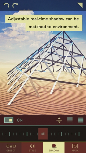 iPhone、iPadアプリ「Matter - Create and design 3D effects with photos」のスクリーンショット 3枚目