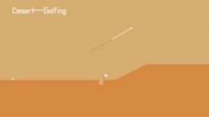 iPhone、iPadアプリ「Desert Golfing」のスクリーンショット 1枚目