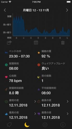 iPhone、iPadアプリ「スマートサイクルアラーム」のスクリーンショット 2枚目