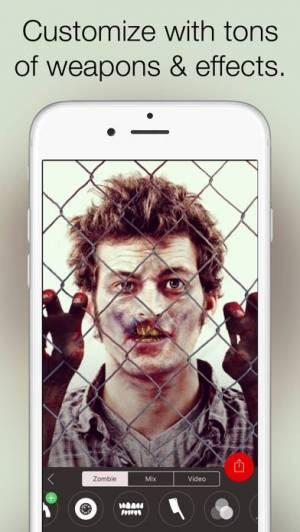 iPhone、iPadアプリ「Zombify - うごめくゾンビに変身せよ」のスクリーンショット 3枚目