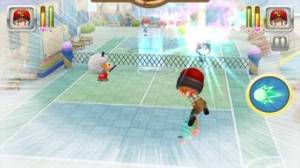 iPhone、iPadアプリ「テニスの神様」のスクリーンショット 1枚目