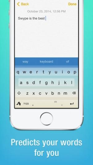 iPhone、iPadアプリ「Swype」のスクリーンショット 4枚目
