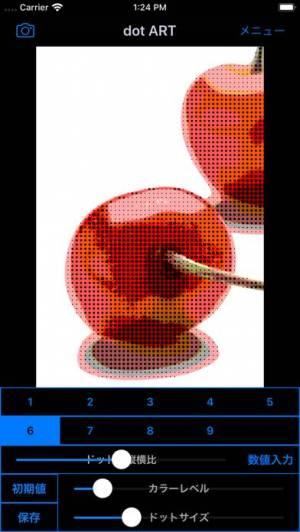 iPhone、iPadアプリ「dot ART - ドット絵風モザイク写真加工アプリ」のスクリーンショット 3枚目