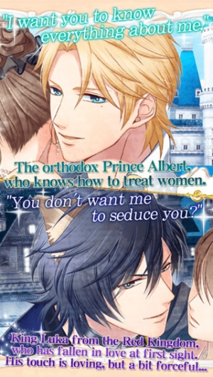 iPhone、iPadアプリ「Once Upon a Fairy Love Tale【Free dating sim】」のスクリーンショット 4枚目