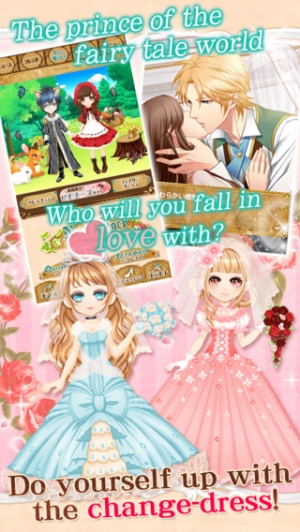 iPhone、iPadアプリ「Once Upon a Fairy Love Tale【Free dating sim】」のスクリーンショット 5枚目