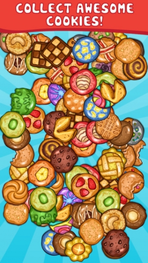 iPhone、iPadアプリ「Cookie Collector 2 - Free Clicker & Incremental Game」のスクリーンショット 1枚目