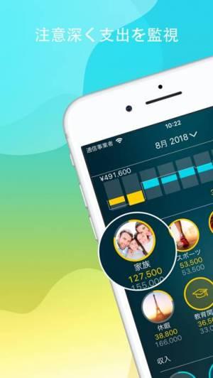 iPhone、iPadアプリ「Money Pro: パーソナルファイナンス」のスクリーンショット 1枚目