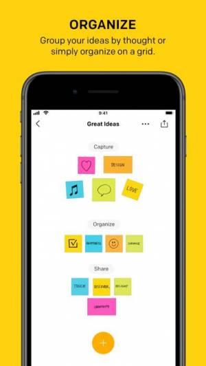 iPhone、iPadアプリ「Post-it®」のスクリーンショット 4枚目