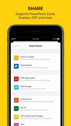 iPhone、iPadアプリ「Post-it®」のスクリーンショット 5枚目