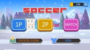 iPhone、iPadアプリ「Happy Soccer Physics」のスクリーンショット 5枚目