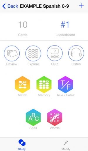 iPhone、iPadアプリ「Flashcards [⁛] Paid」のスクリーンショット 2枚目