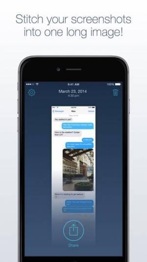 iPhone、iPadアプリ「Tailor - Screenshot Stitching」のスクリーンショット 1枚目
