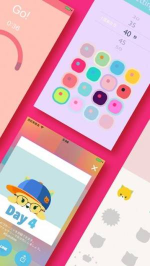 iPhone、iPadアプリ「Gohobee 女子の腹筋アプリ|マジめ運動ダイエット」のスクリーンショット 5枚目