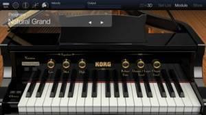 iPhone、iPadアプリ「KORG Module Pro」のスクリーンショット 1枚目