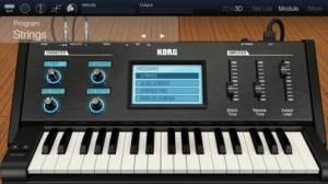iPhone、iPadアプリ「KORG Module Pro」のスクリーンショット 5枚目