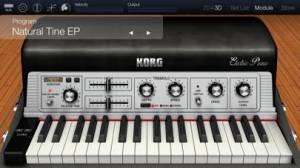 iPhone、iPadアプリ「KORG Module Pro」のスクリーンショット 2枚目