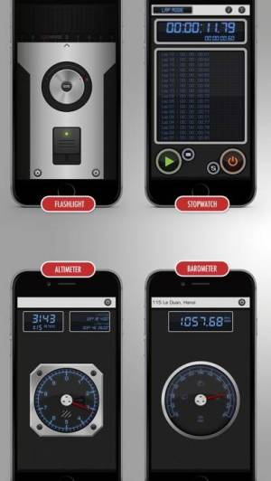 iPhone、iPadアプリ「Toolbox - オールイン 1 の計測ツールセット」のスクリーンショット 4枚目