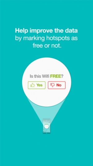 iPhone、iPadアプリ「WifiMapper – free Wifi maps, find cafe hotspots, travel without roaming fees」のスクリーンショット 4枚目