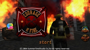 iPhone、iPadアプリ「Courage Of Fire」のスクリーンショット 1枚目