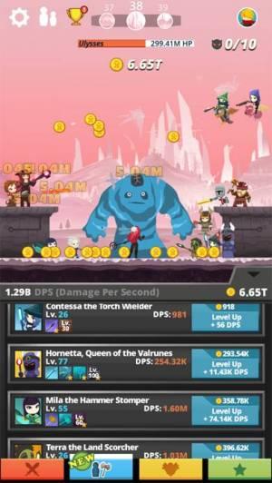 iPhone、iPadアプリ「Tap Titans」のスクリーンショット 4枚目