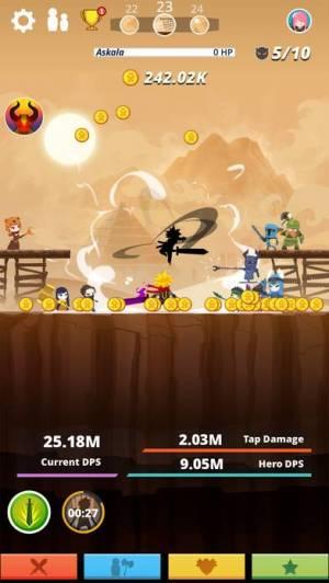 iPhone、iPadアプリ「Tap Titans」のスクリーンショット 2枚目