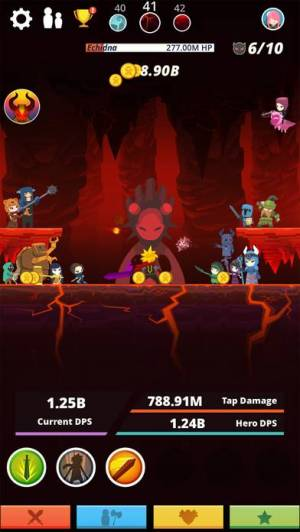 iPhone、iPadアプリ「Tap Titans」のスクリーンショット 5枚目