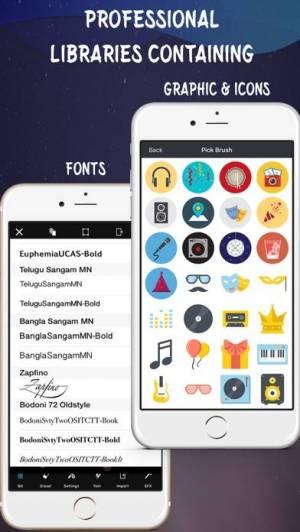 iPhone、iPadアプリ「Create Flyers & Logos - Maker」のスクリーンショット 4枚目