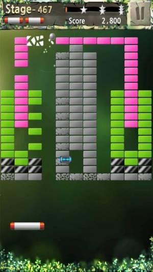iPhone、iPadアプリ「ブロック崩しの王」のスクリーンショット 3枚目