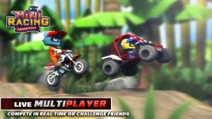 iPhone、iPadアプリ「Mini Racing Adventures」のスクリーンショット 1枚目