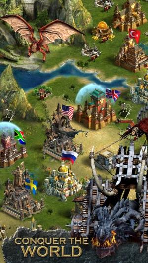 iPhone、iPadアプリ「クラッシュ オブ キングス-「城育成シミュレーションRPG」」のスクリーンショット 4枚目