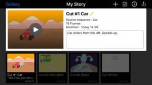 iPhone、iPadアプリ「Animation Desk®」のスクリーンショット 4枚目