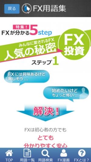 iPhone、iPadアプリ「FX用語集-説明漫画付き」のスクリーンショット 3枚目