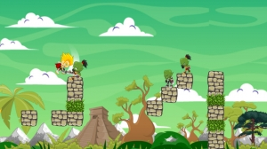 iPhone、iPadアプリ「Ancient Groovers - オークとダークモンスターとの騎士とエルフの中世の戦い」のスクリーンショット 5枚目