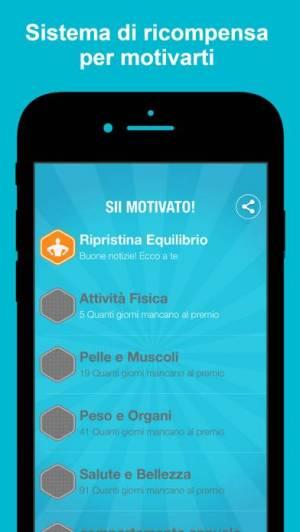 iPhone、iPadアプリ「Aqualert : アクアラート体の水分バランスを整える」のスクリーンショット 3枚目