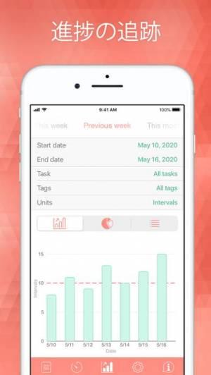 iPhone、iPadアプリ「Be Focused Pro - Focus Timer」のスクリーンショット 4枚目